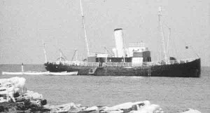 Steamboat icebreaker Bore.