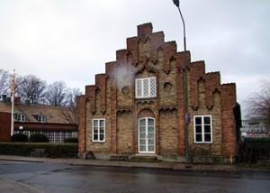 Sjörmanskyrkans västra flygel.